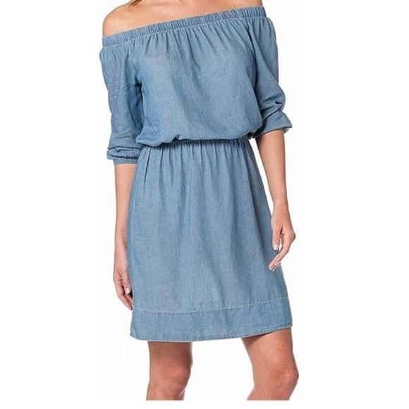 Calvin Klein Dresses & Skirts - 🆕 Calvin Klein • Chambray Dress
